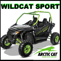 Arctic Cat Wildcat Sport parts and accessories for sale from Arctic Cat Parts king Discounted prices and fast shipping!