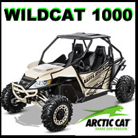 Arctic Cat Wildcat 1000 parts and accessories for sale from Arctic Cat Parts king Discounted prices and fast shipping!